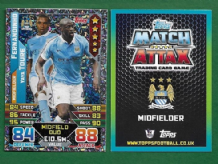 Manchester City Fernandinho & Yaya Toure 449 Midfield Duo